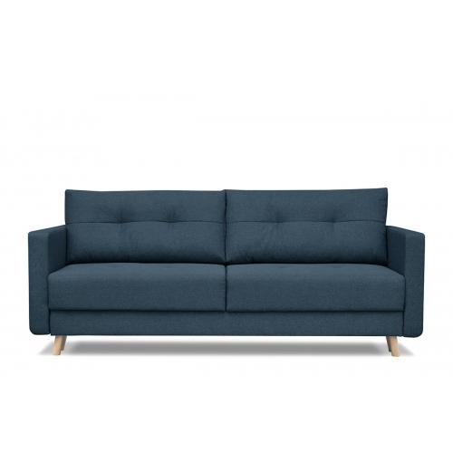 Sofa CONCO, mėlyna, 218x92x91 cm