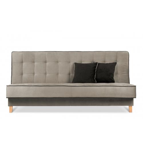 Sofa DOZ, smėlio/ruda, 198x93x85 cm