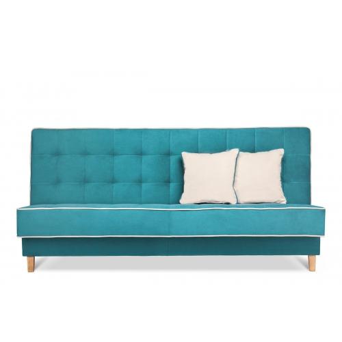 Sofa DOZ, turkio/ecru, 198x93x85 cm