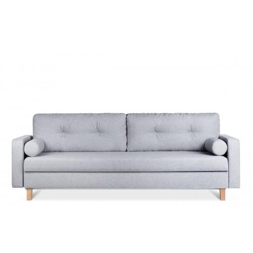 Sofa ERIS, pelenų, 230x100x80 cm