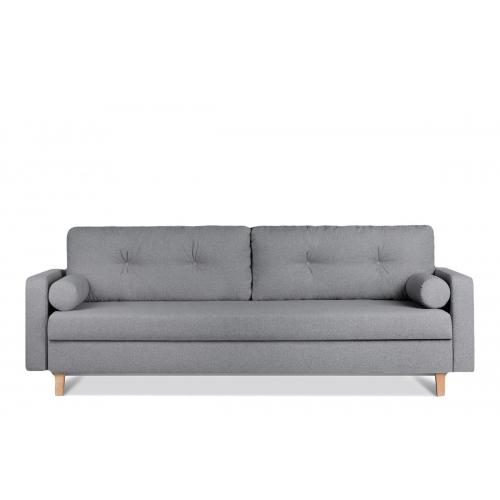Sofa ERIS, tamsiai pilka, 230x100x80 cm