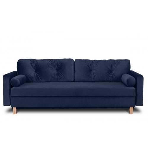 Sofa ERIS, mėlyna, 230x100x80 cm
