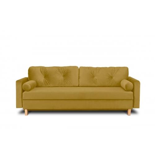 Sofa ERIS, šviesiai ruda, 230x100x80 cm
