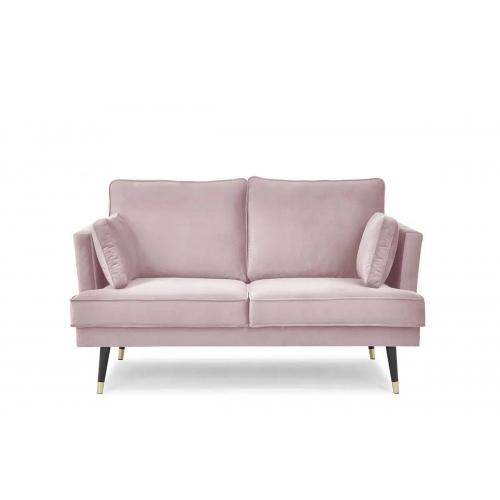 Sofa FALC, rožinė, 163x93x91 cm