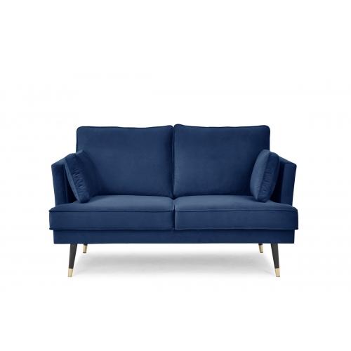 Sofa FALC, mėlyna, 163x93x91 cm