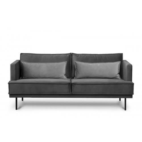 Sofa GANZ, pilka, 196x92x84 cm