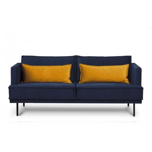 Sofa GANZ, mėlyna, 196x92x84 cm