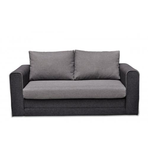 Sofa HINA, pilka, 161x72x77 cm