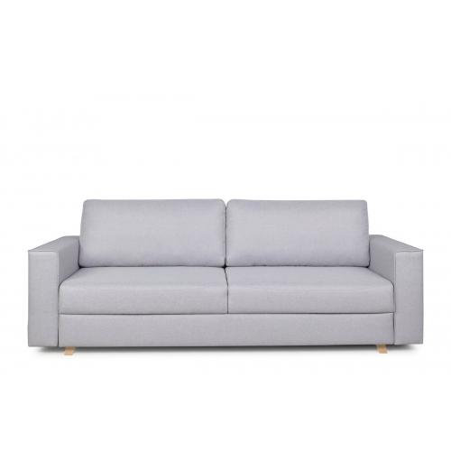 Sofa MUNO, šviesiai pilka, 240x94x90 cm