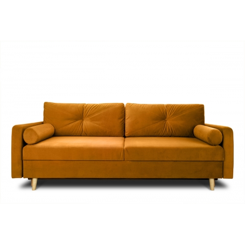 Sofa NART, oranžinė, 230x100x80 cm