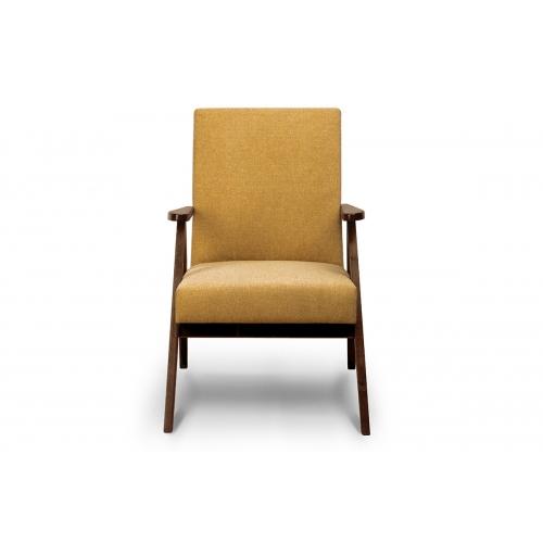 Fotelis NASE, geltonas, 60x75x90 cm