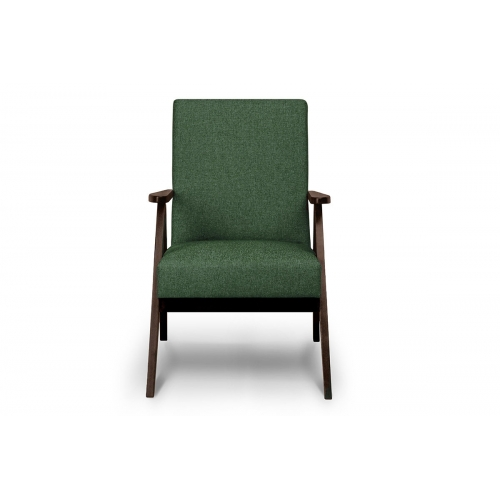 Fotelis NASE, žalias, 60x75x90 cm