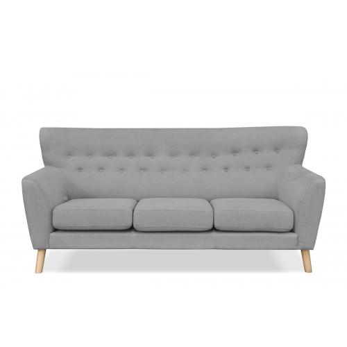 Sofa NEBRI, pilka, 202x90x92 cm