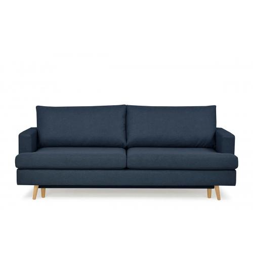 Sofa NEBO, mėlyna, 224x100x92 cm