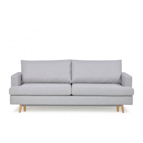Sofa NEBO, šviesiai pilka, 224x100x92 cm
