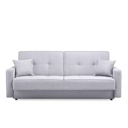 Sofa ORIA, pilka, 218x90x89 cm