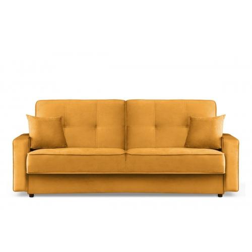 Sofa ORIA, geltona, 218x90x89 cm