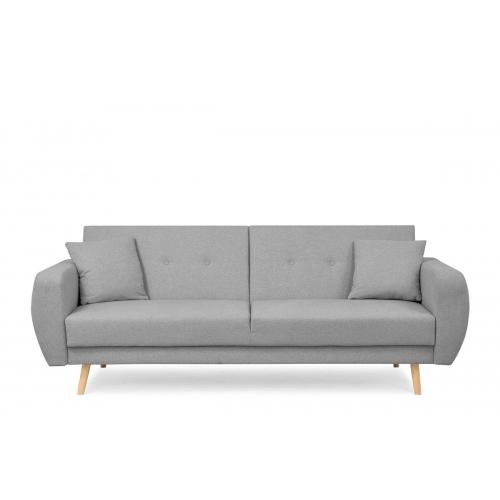 Sofa PIKU, pilka, 222x91x88 cm