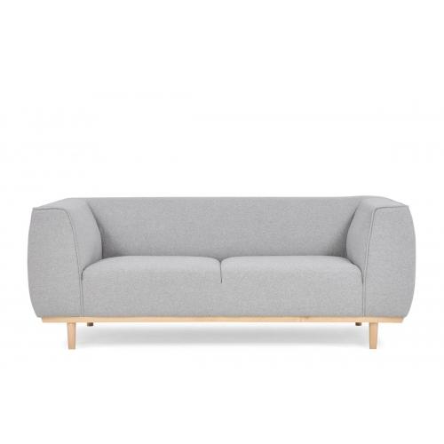 Sofa PUMA, pilka, 187x84x70 cm