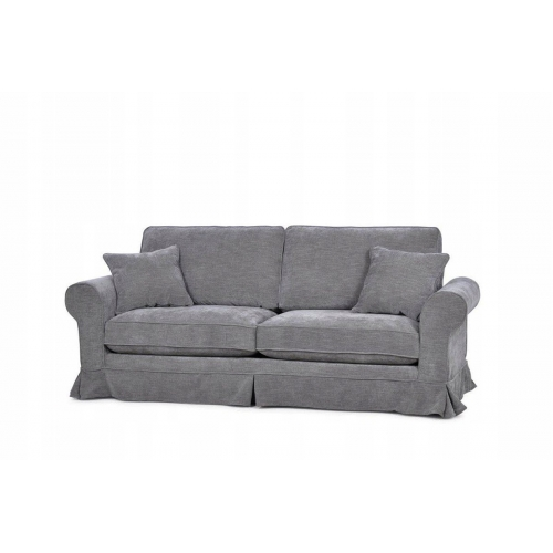Sofa PURRI, tamsiai pilka, 227x90x98 cm