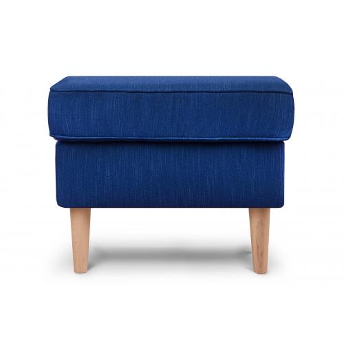 Pufas STRAL, mėlynas, 56x41x43 cm