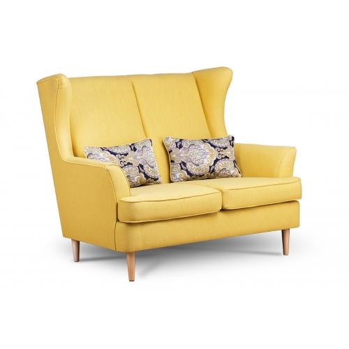 Sofa STRAL, geltona, 136x96x106 cm