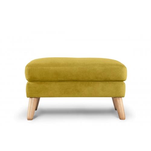 Pufas TAGO, geltonas, 80x65x46 cm