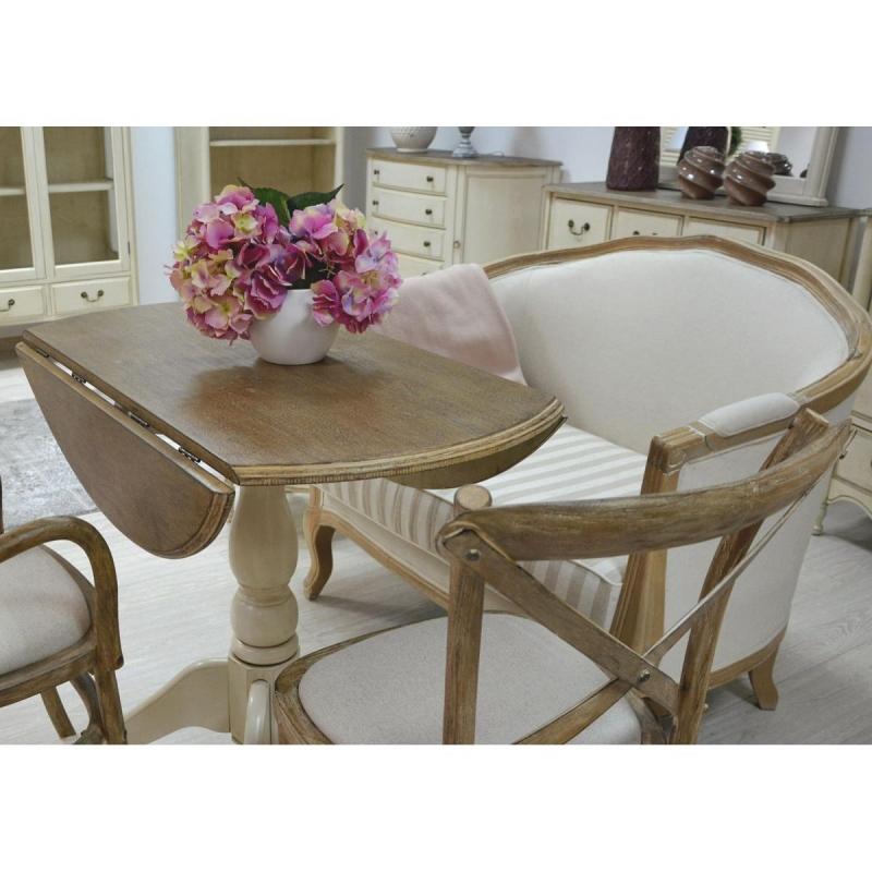 Apvalus stalas (išskleidžiamas) LIMENA