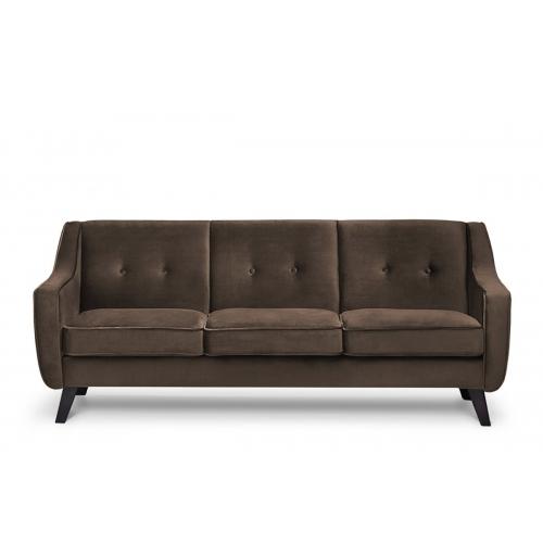 Sofa TERO, ruda, 206x89x81 cm