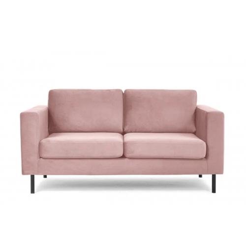 Sofa TOZZO, rožinė, 172x86x84 cm