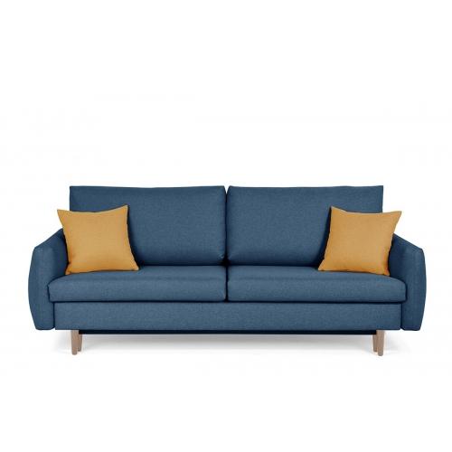 Sofa TUBO, mėlyna, 232x102x91 cm