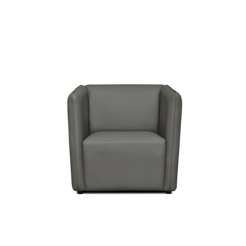 Fotelis UMBI, pilkas, 74x77x75 cm