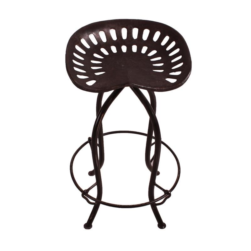 Baro kėdė MOTO (juoda)