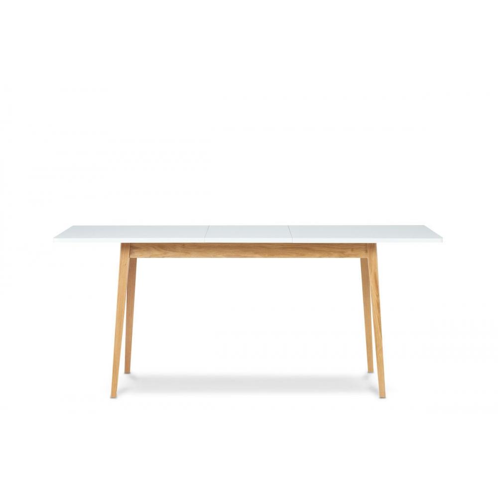 Stalas 160-200 cm FRISO WHITE (išskleidžiamas)