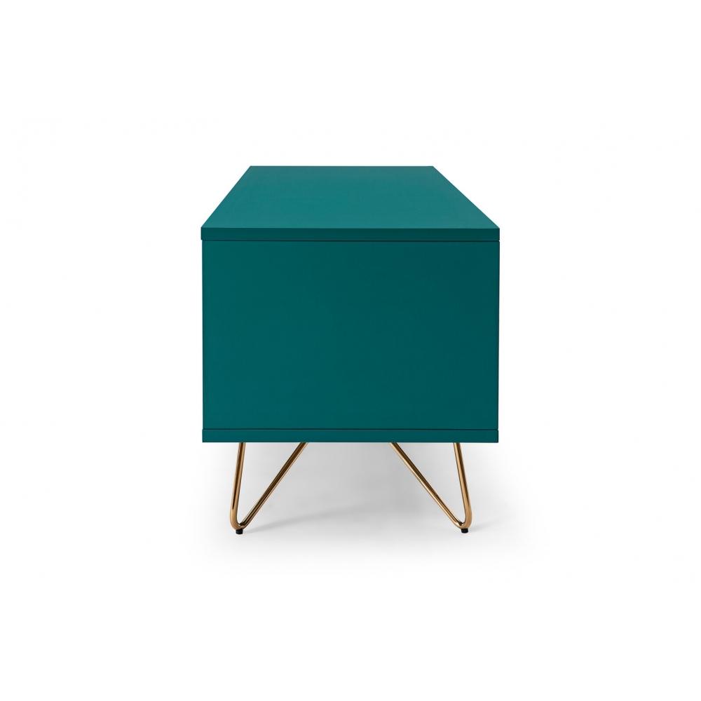 Skandinaviško stiliaus TV staliukas, kokybiškas, dviejų skyrių