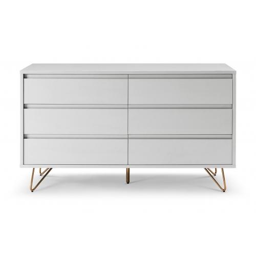 Modernaus dizaino komoda, skandinaviško stiliaus, Didelė
