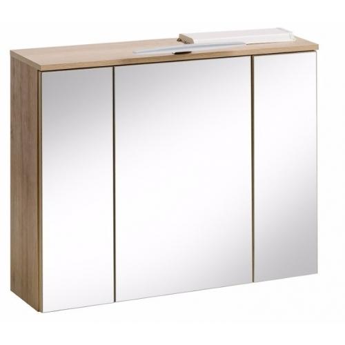 Pakabinamas veidrodis-spintelė 843 REIMS OAK