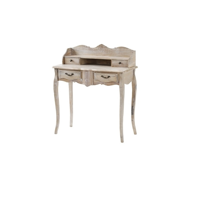 MERANO Kosmetinis staliukas, medinis, Provanso stiliaus