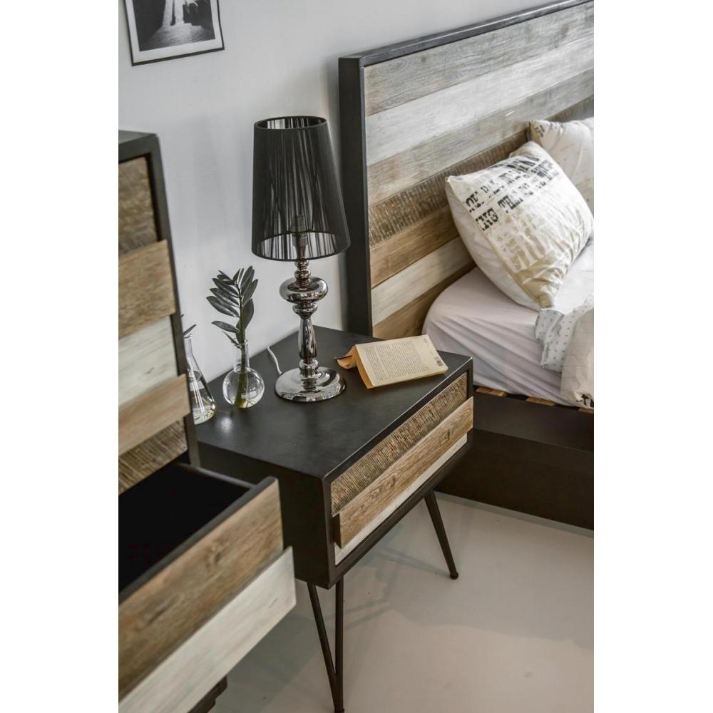 Kokybiškas naktinis staliukas, medinis, jaukus