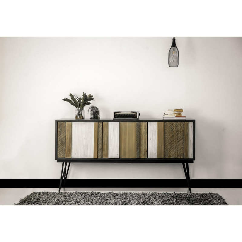 Kokybiška spintelė, medinė, minimalistinė