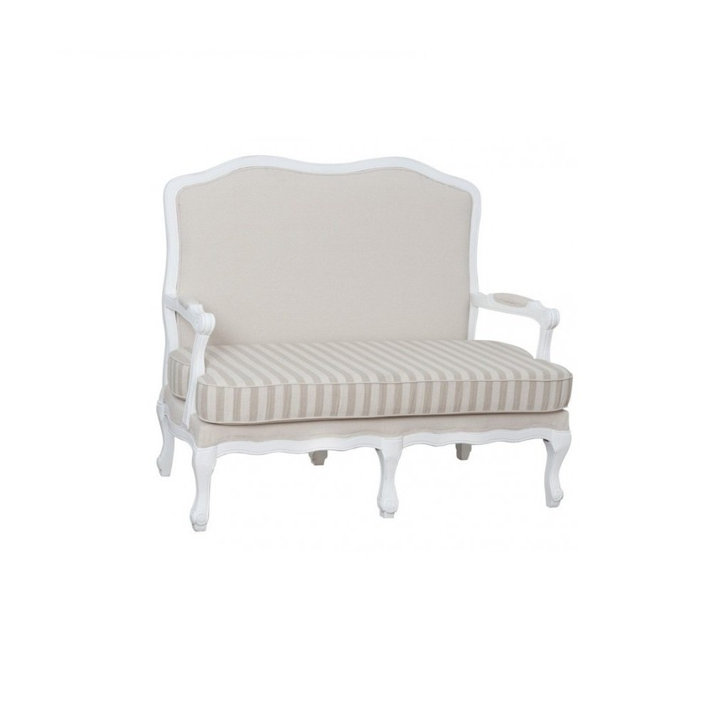 Išskirtinio dizaino sofa, elegantiška, prancūziško stiliaus