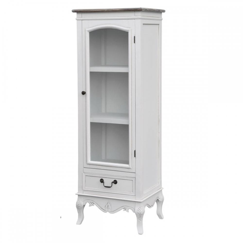 Klasikinio dizaino vitrina, elegantiška , provanso stiliaus