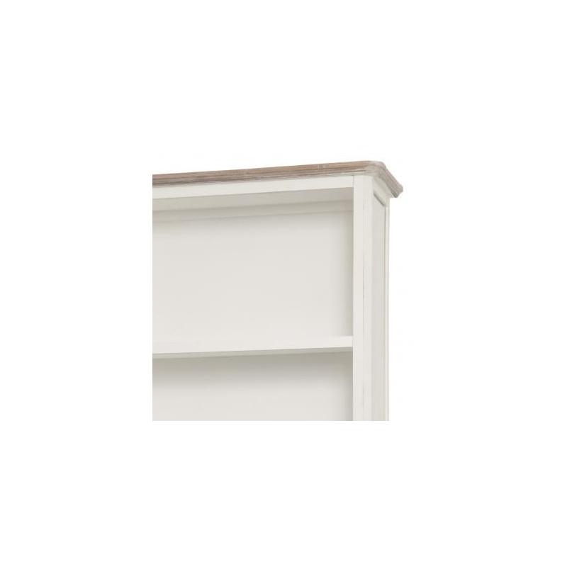 senovinio stiliaus lentyna, medinė, balta