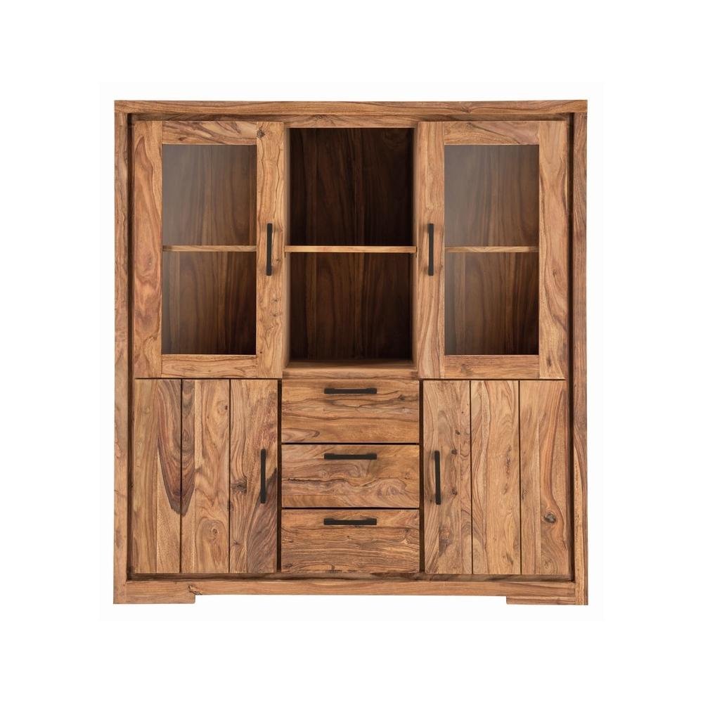 Šiuolaikinio stiliaus bufetas, natūralios medienos, didelis