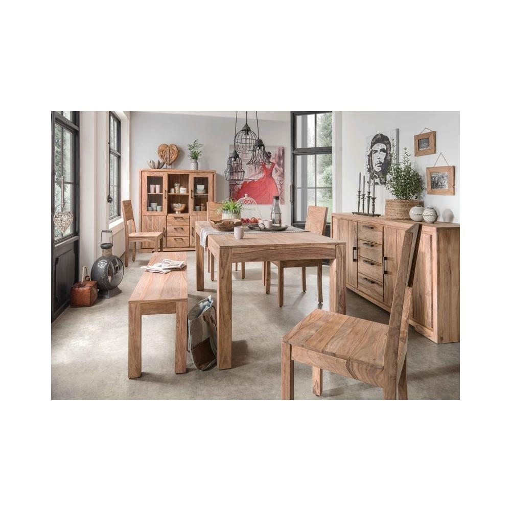 medinė komoda, rudos spalvos, sendinto dizaino