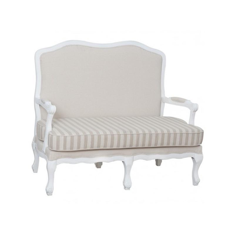 dvivietė sofa, klasikinio stiliaus, prabangaus dizaino