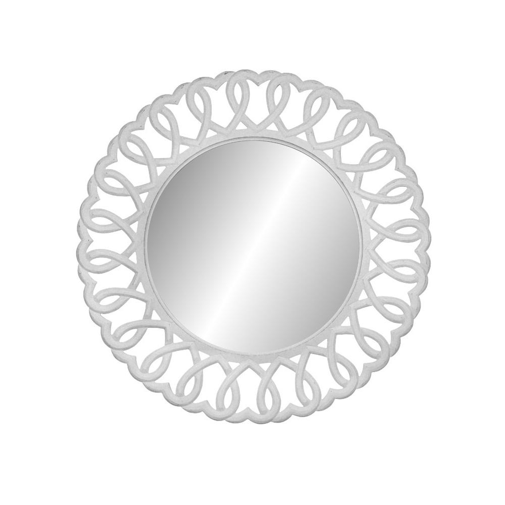 Pakabinamas veidrodis 54 RIMINI WHITE
