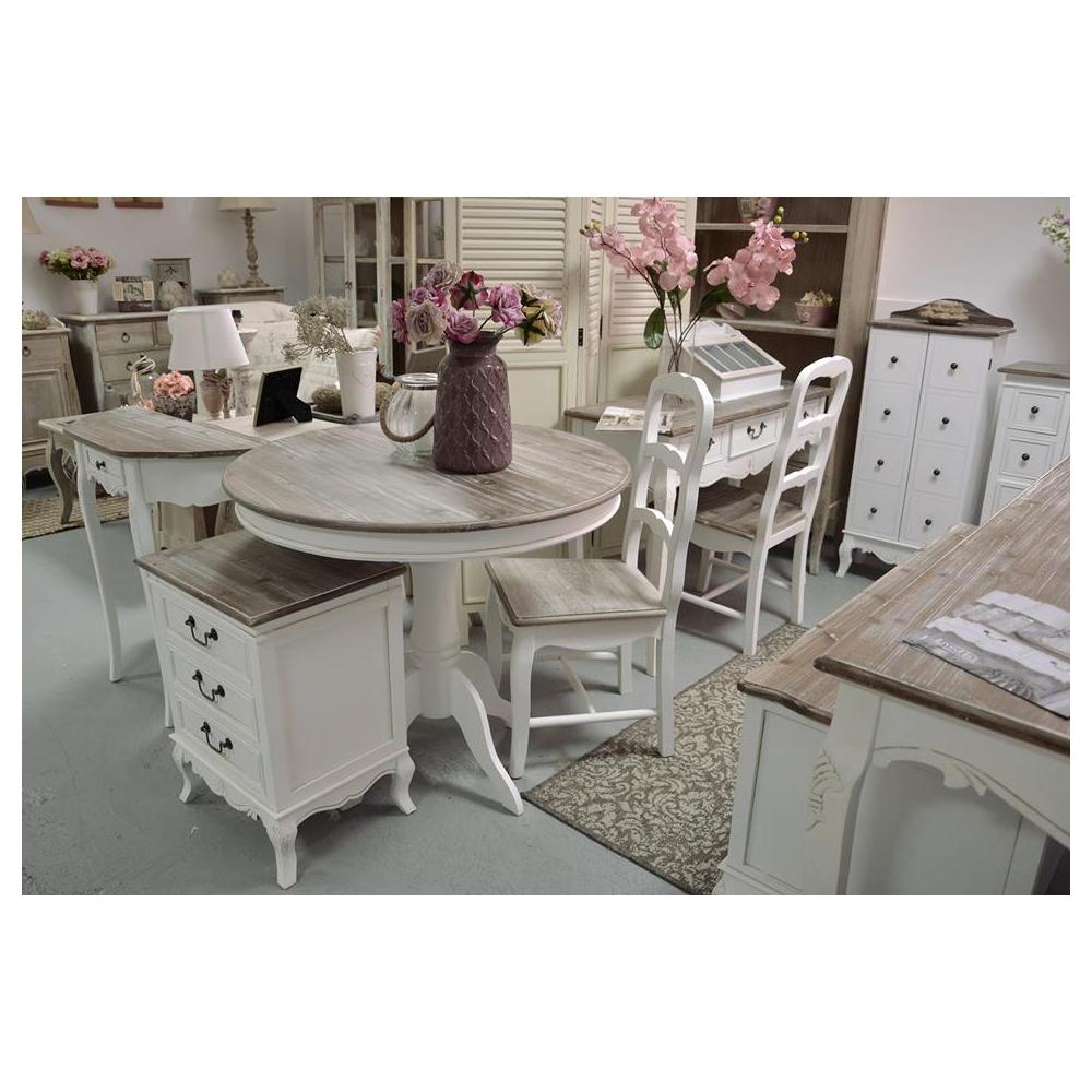 baltos spalvos konsolė, su stalčiumi, medinė