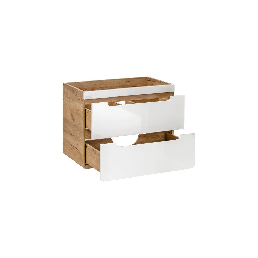 Stilinga vonios spintelė, pakabinama, minimalistinė