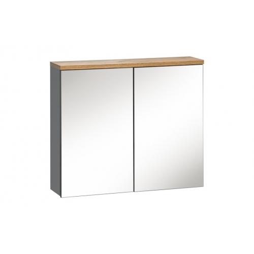 Pakabinamas veidrodis-spintelė 841 GOTLAND GREY
